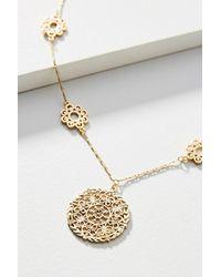 Anthropologie - Metallic Juniper Cove Necklace - Lyst