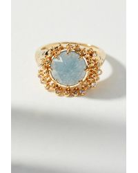 Anthropologie - Blue Good Day Sunshine Ring - Lyst