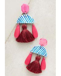 Jemima Kingston - Pink Brisbane Earrings - Lyst