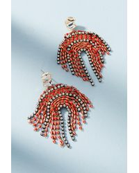 Serefina | Red Morningside Earrings | Lyst