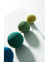 Suzanna Dai - Green Ombre Ball Drop Earrings - Lyst