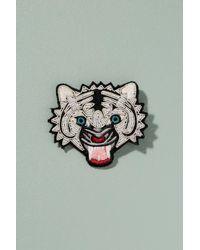 Macon & Lesquoy | Multicolor Tiger Pin Badge | Lyst