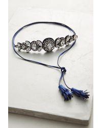 Shourouk | Blue Countess Choker Necklace | Lyst