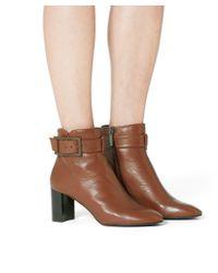 Aquatalia - Black Vanie Suede Ankle Boots - Lyst