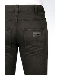 Armani - Gray Straight Leg Pant for Men - Lyst