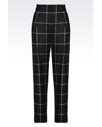Emporio Armani | Multicolor Pants With Tucks | Lyst