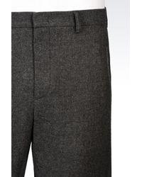Emporio Armani - Gray Pant for Men - Lyst