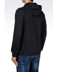 Armani Jeans | Black Hoodie for Men | Lyst