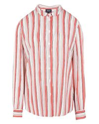 Armani Jeans | Pink Long Sleeve Shirt | Lyst