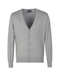 Armani Jeans   Gray Cardigan for Men   Lyst