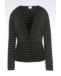 Armani | Black One Button Jacket | Lyst