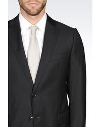 Armani - Black Two Button Suit for Men - Lyst