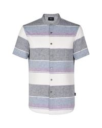 Armani Jeans | Purple Short Sleeve Shirt for Men | Lyst