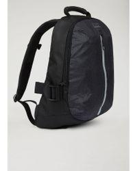 Emporio Armani - Black Backpack for Men - Lyst
