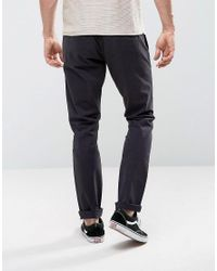 Only & Sons | Blue Chino In Slim Fit for Men | Lyst