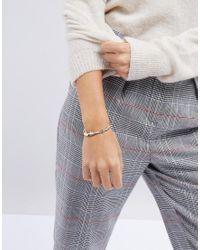 ASOS - Metallic Limited Edition Leaf Vine Cuff Bracelet - Lyst