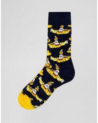 Happy Socks - Multicolor X The Beatles Yellow Submarine Socks 3 Pack for Men - Lyst