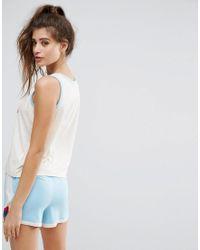 Chelsea Peers - Multicolor Stealing Hearts Short Pyjama Set - Lyst