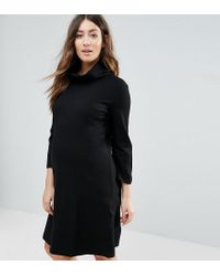 Isabella Oliver | Black Marlow Maternity Tunic Dress | Lyst