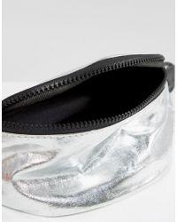 ASOS - Lifestyle Metallic Bum Bag - Lyst