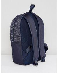 BOSS - Blue Boss Space Dye Backpack In Navy for Men - Lyst
