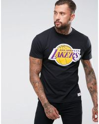 7363c289 Lyst - Mitchell & Ness Nba L.a Lakers T-shirt in Black for Men