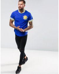 Mitchell & Ness - Blue Nba Golden State Warriors Mesh T-shirt for Men - Lyst