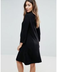 Isabella Oliver - Black Marlow Maternity Tunic Dress - Lyst