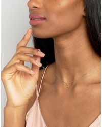 Dogeared - Metallic Citrine November Birthstone Necklace - Lyst
