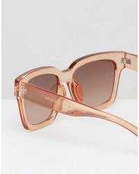 Warehouse - White Persex Tinted Sunglasses - Lyst