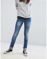 Blend She | Blue Glow Kay Skinny Jeans | Lyst