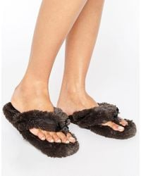 Bedroom Athletics | Pink Bedroom Athlectics Erica Spa Thong Slipper | Lyst
