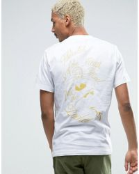 Billionaire Boys Club - Ice Cream   White T-shirt With Back Print for Men   Lyst
