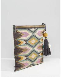 Star Mela - Multicolor Embroidered Detail Cross Body Bag - Lyst