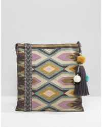 Star Mela - Multicolor Embroidered Detail Cross Body Bag - Lyst