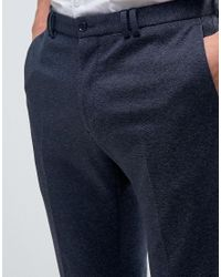 Noak | Blue Skinny Tapered Jersey Pants for Men | Lyst