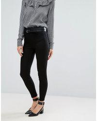 New Look | Black Super Skinny Jeans | Lyst