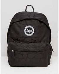 Lyst - Hype Lilypad Backpack in Black for Men 01f8a8cfd820b
