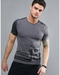 Reebok | Gray One Series Active T-shirt for Men | Lyst