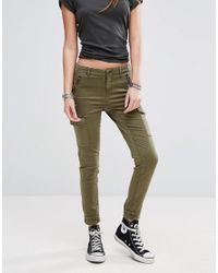 ONLY   Green Cargo Pant   Lyst