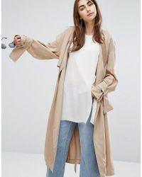 Cheap Monday | Natural Soft Trench Coat | Lyst