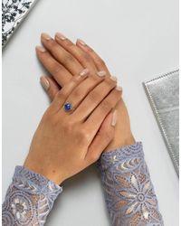 Rock N Rose - Metallic Rock N Rose Sterling Silver Lapis Lazuli Ring - Lyst