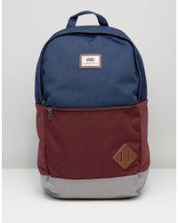 fa5995d3b95692 Vans Van Doren Iii Backpack In Blue in Blue for Men - Lyst