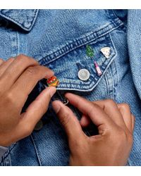 ASOS | Multicolor 4 Pack Pin Badge Set With Cactus | Lyst