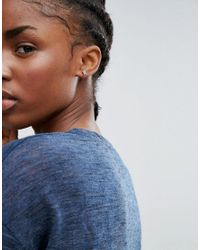 New Look - Metallic Botanical 6 Pack Stud Earrings - Lyst