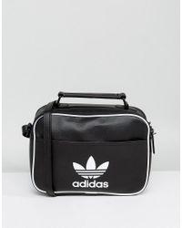 c9d29fc6e973 Lyst - adidas Originals Mini Airliner Bag In Black in Black for Men