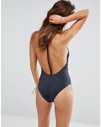 Billabong - Black Surf Vibes Swimsuit - Lyst