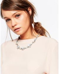 Coast - Metallic Emily Stone Statement Necklace - Lyst