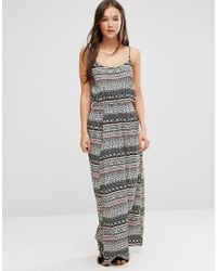 Vero Moda | White Super Easy Boho Maxi Dress | Lyst