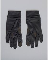 Reebok - Black Gants d'hiver for Men - Lyst